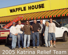 clcf hurricane relief team 2005