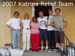 clcf hrricane relief team 2007